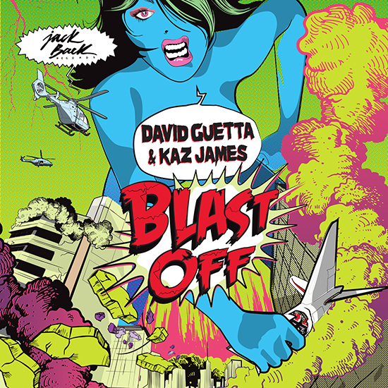 David Guetta & Kaz James – Blast Off